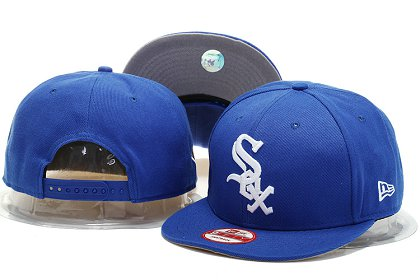 Chicago White Sox Snapback Hat YS M 140802 04